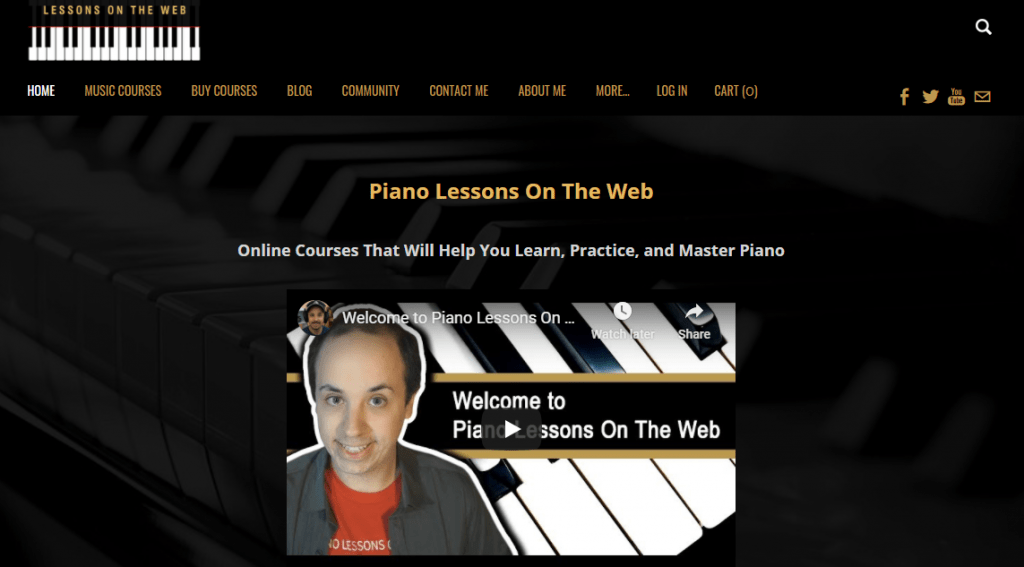piano lessons blog example