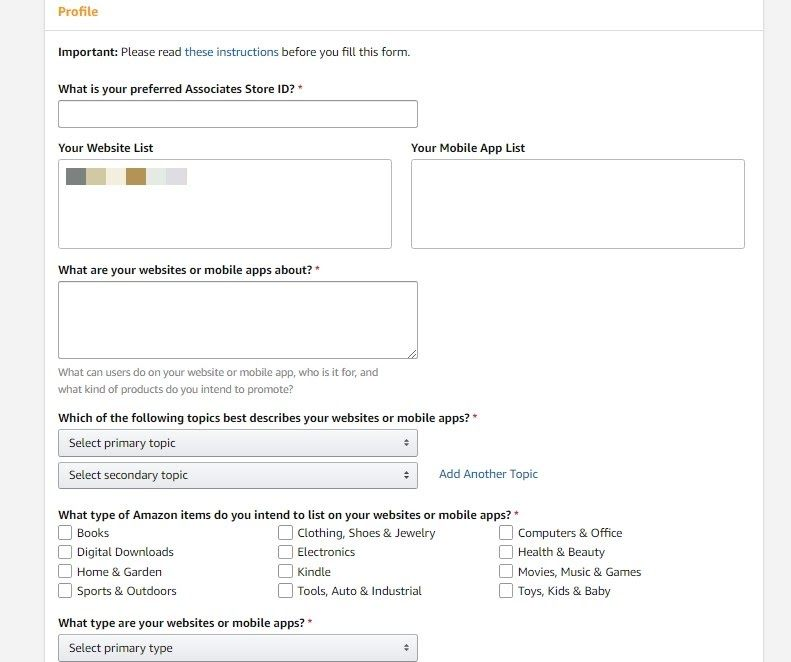 amazon affiliate review